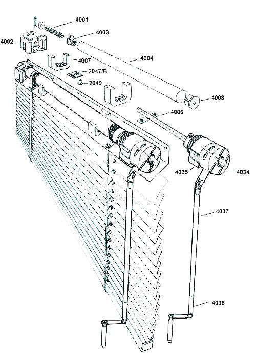 esploso-monocomando-ad-asta-crank-operated-set